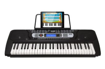 RockJam 54-Key Portable Digital Piano Keyboard